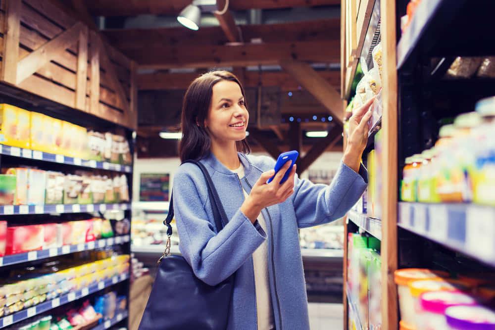買い物リストに合った店内での道順を示すアプリ「コネクテッド・ショッピング」