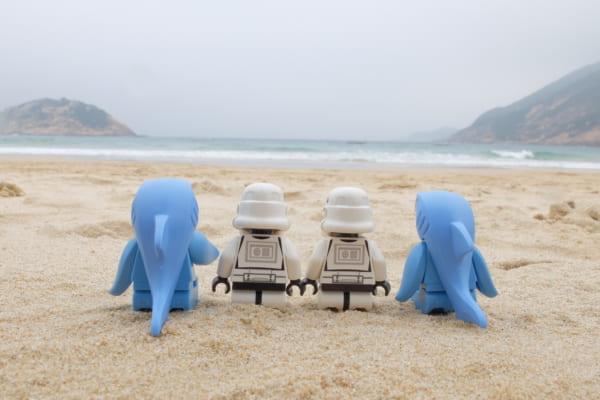 海洋課題に触れられるレゴ新シリーズ「Sea Life Rescue」
